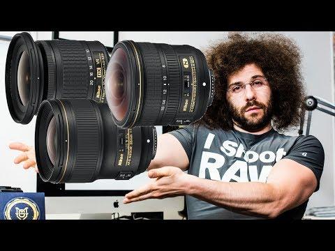 3 NEW Nikon Lenses: 8-15mm f3.5-4.5 FISHEYE, 28mm f1.4 and 10-20mm f4.5-5.6 DX VR