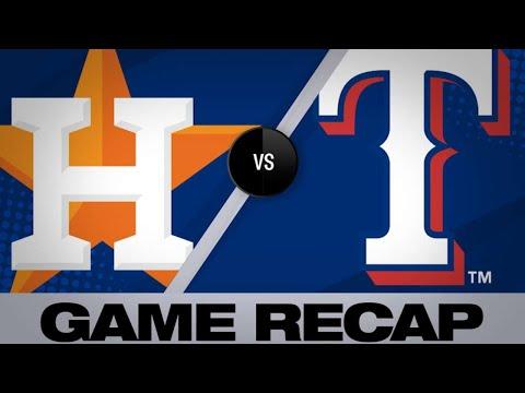 Altuve, Bregman homer in Astros' 7-2 victory - 4/19/19
