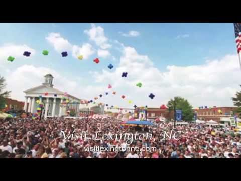 Visit Lexington - North Carolina - TV Tourism Commercial - Advert - Spot - The Travel Channel - USA