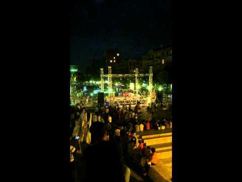 Folk music at the Cascade, Yerevan August 20th, 2015