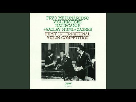 Julian Carillo: Largo I Fuga Iz Sonate Za Violinu Solo U E-Molu