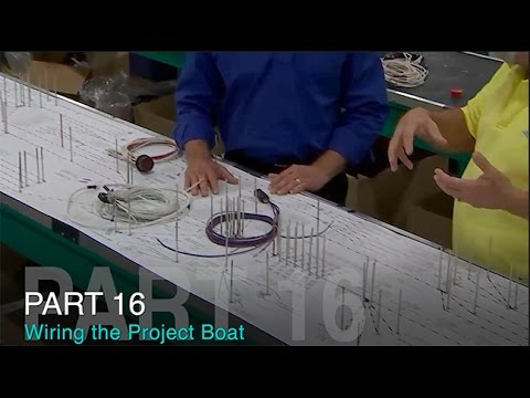 Taco Marine Project Boat on Ship Shape TV: Part 16 – Wiring
