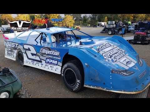 #2 Terry Poore - Crate - 10-12-19 Volunteer Speedway - In-Car Camera