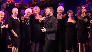 The Girls Musical Cast Curtain Call with Gary Barlow and Tim Firth singing 'Dare'