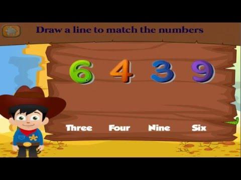 Cowboy Kindergarten Games for Kids