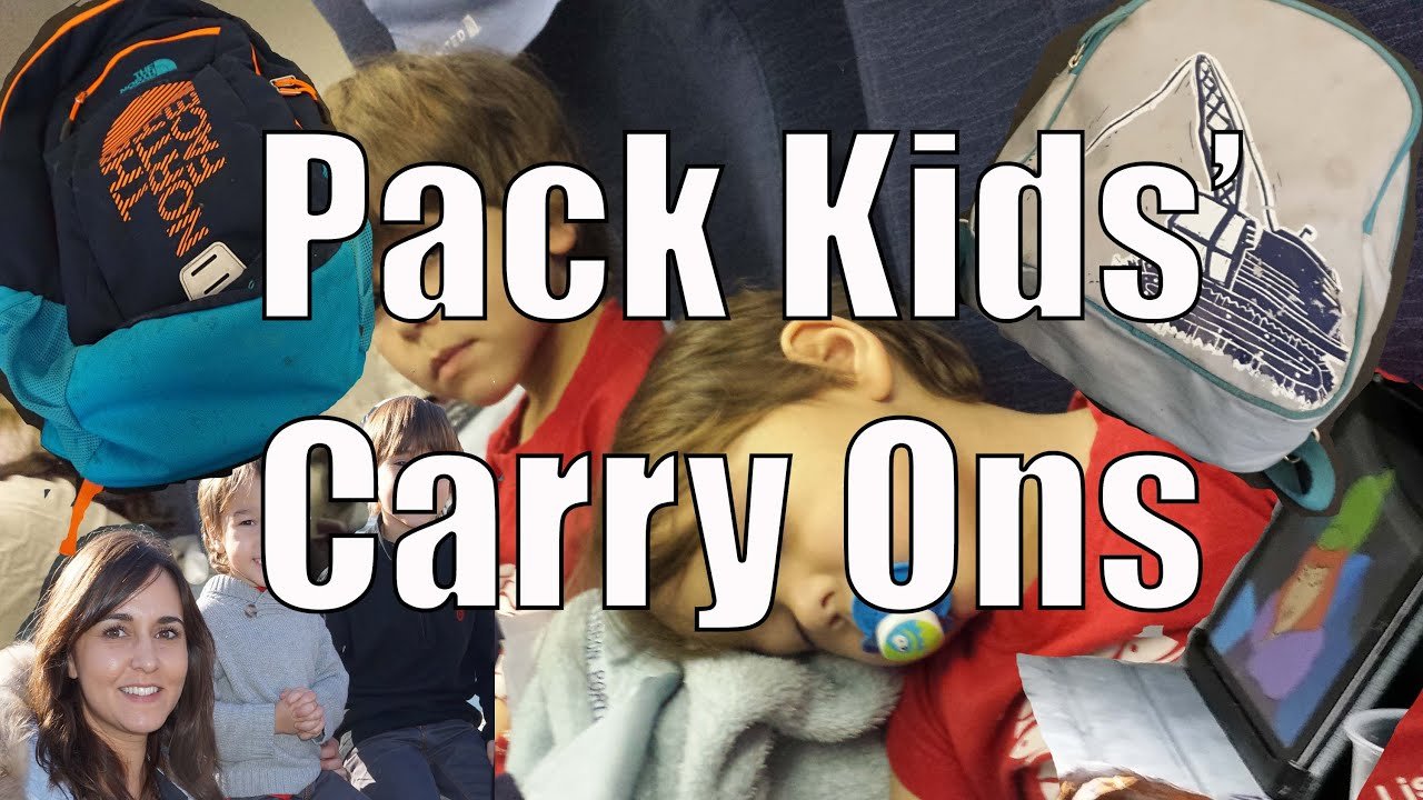 How to Pack a Child s Carry On   Keep Kids Quiet on the Plane - YouTube cf67c2ba80a93