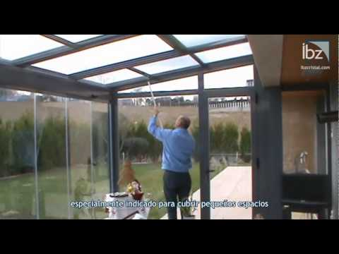 Techo corredizo de cristal youtube - Techos de cristal para casas ...