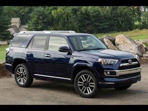 2015 toyota 4runner limited start up and review 4.0 l v6 - youtube