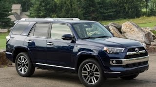 2015 Toyota 4Runner Limited Start Up and Review 4.0 L V6