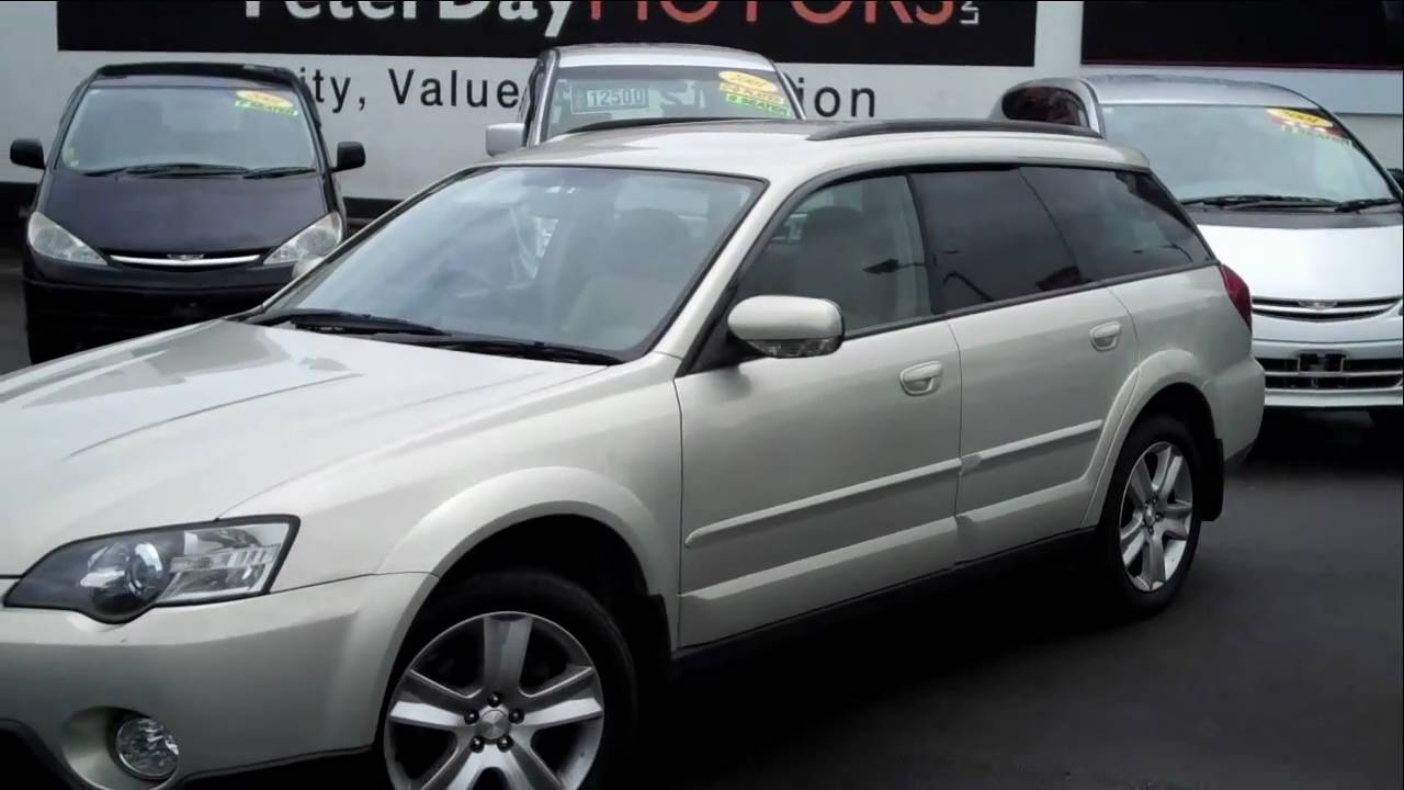 2005 subaru outback 2 5l travelled 127 000 km for sale at peter day motors edited youtube