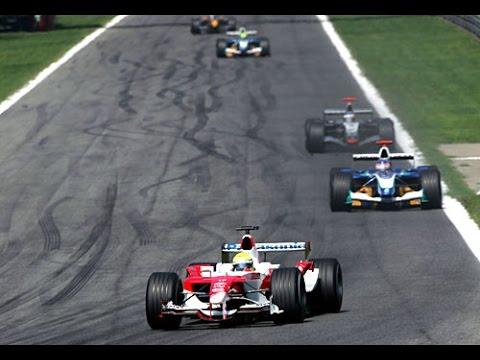 Formel 1 2005 GP15 Monza Rennen Premiere