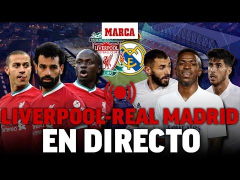 Liverpool - Real Madrid: vuelta de CUARTOS CHAMPIONS LEAGUE EN DIRECTO I Liga de Campeones EN VIVO