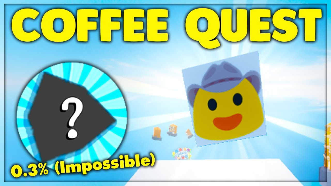 How To Get The SECRET Coffee Quest Badge Kill Effect (Roblox
