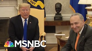 Nancy Pelosi And Schumer Hammer Trump In Brawl Over Border Wall | The Beat With Ari Melber | MSNBC