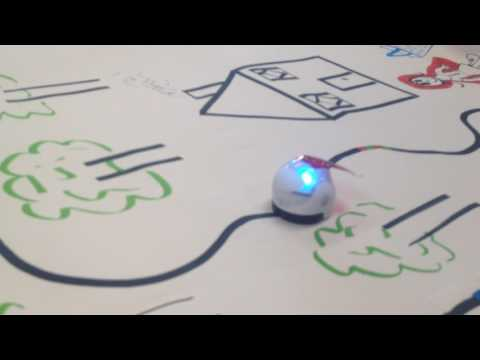 Ozobot Bit Little Red Riding Hood Video Youtube