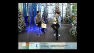 """Диана Арбенина в программе """"Доброе утро"""" на Первом."""