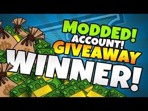 MODDED ACCOUNT GIVEAWAY WINNER | READ DESCRIPTION ‼️