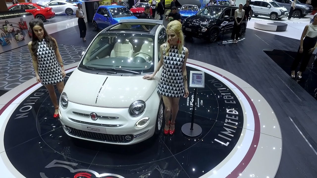 fiat 500 celebrates 60th anniversary at geneva motor show 2017 youtube. Black Bedroom Furniture Sets. Home Design Ideas