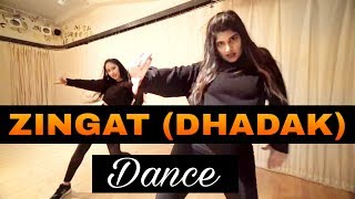 ZINGAAT (HINDI)  SONG DANCE VIDEO | DHADAK | Dance choreography