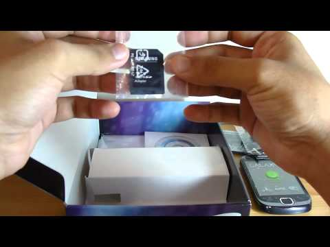 Unboxing Of Samsung Galaxy Fit (GT-S5670)