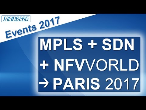 Meinberg Events - MPLS + SDN + NFV World Congress 2017 in Paris
