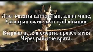 "Расима Мухаметшина - ""Яратам Һине Ғайса"" минус с субтитрами (Люблю Тебя Иисус)"