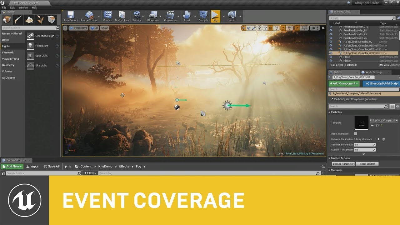 Mastering Volumetric Fog in Unreal Engine - Evermotion
