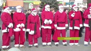 Деды Морозы пошли в дома больных детей