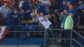 Fan Misses Catching World Series Ball in Stands That Lands on Wife's Belly thumbnail