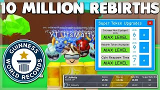 I REBIRTHED 10 MILLION TIMES ON MAGNET SIMULATOR! HOW TO BECOME THE BEST! ROBLOX!