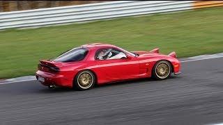 Mazda Rx7 FD - Autodrom Most 26.10.13 (2stint)