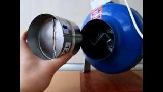 видео Зачем нужен канальный вентилятор для вытяжки?