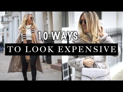 10 WAYS TO LOOK EXPENSIVE: HOW TO LOOK EXPENSIVE ON A BUDGET | Em Sheldon