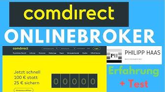 Comdirect Depot  - Test und Erfahrung - So Comdirect Aktiendepot eröffnen (2019)