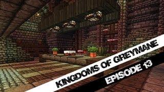Minecraft, Kingdoms of Greymane Part 13, The Royal Kitchen + Pigs! ( Jeracraft )