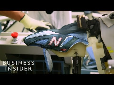 Video: How New Balance Sneakers Are Made | The Making Of
