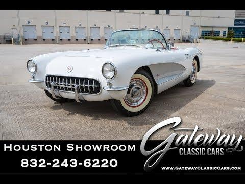 1957 Chevrolet Corvette Gateway Classic Cars #1490 Houston Showroom