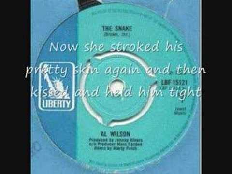 Al Wilson - The Snake (lyrics)