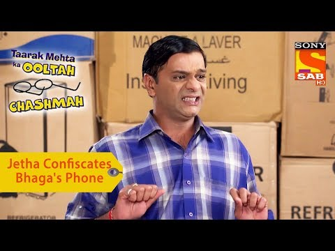 Your Favorite Character   Jethalal Confiscates Bhaga's Phone   Taarak Mehta Ka Ooltah Chashmah