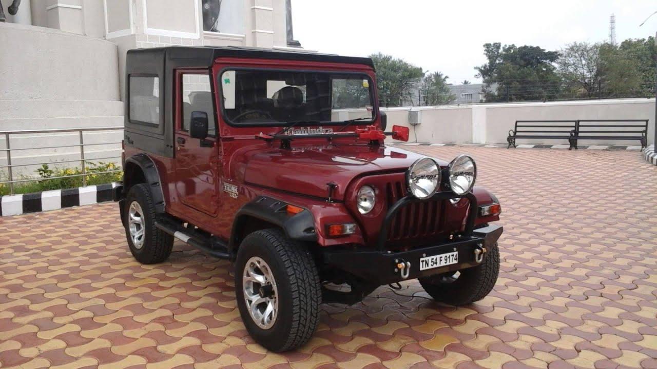 Mahindra Thar Modified Jeepclinic Coimbatore Youtube