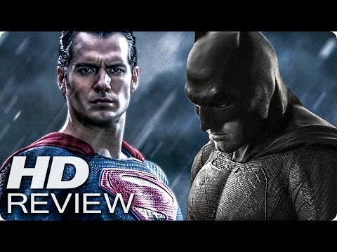 BATMAN V SUPERMAN: DAWN OF JUSTICE Kritik Review & Trailer Deutsch German (2016)