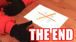 CHARLIE CHARLIE PENCIL GAME CHALLENGE PART 2 - THE END