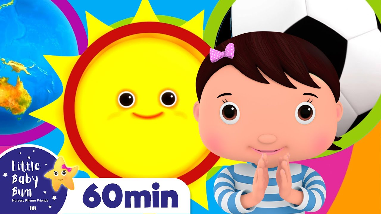 Circle Song +More Nursery Rhymes and Kids Songs | Little Baby Bum