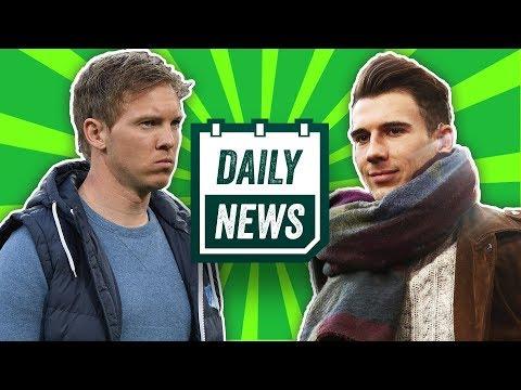 Goretzka geht zum FC Bayern! 2 Talente für Schalke 04! Nagelsmann lobt Bayer Leverkusen!! Daily News