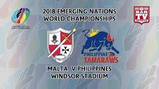 2018 Emerging Nations World Championships - Pool A - Malta v Philippines