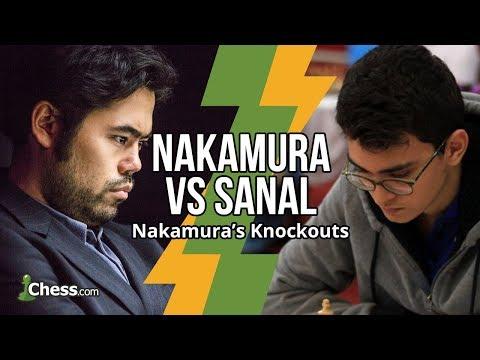 Nakamura Vs Sanal: 8 Game Blitz Chess Series