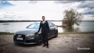 La nuova Audi RS6 Avant fa i 305 km/h: ci abbiamo provato sulle Autobahn - German Autobahn Top speed
