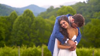 EMOTIONAL GROOM REACTION // Sarah & Chip's Wedding Video // The Vineyards at Betty's Creek