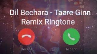 Dil bechara songs, taare ginn song, hindi ringtone 2020, sad song ringtone, romantic love status 😍