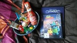 Meine Geschenke zu Ostern (Toy Story 4 DVD & Onward Bilderbuch)